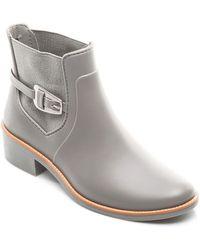 Bernardo - Pansie Ankle Strap Rainboots - Lyst
