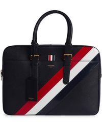 Thom Browne - Business Leather Briefcase - Lyst