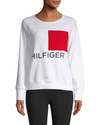 Tommy Hilfiger - Graphic Logo Pullover - Lyst