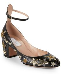 Valentino - Tango Sequined Pumps - Lyst