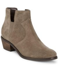 Cole Haan - Alayna Suede Booties - Lyst