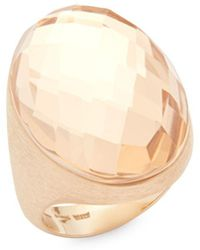 Roberto Coin - Crystal And 18k Gold Statement Ring - Lyst