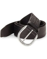 John Varvatos - Hand Burnished Belt - Lyst