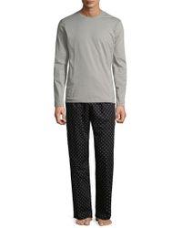 Calvin Klein - Cotton Pyjama Set - Lyst