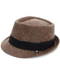 Block Headwear - Plaid Fedora - Lyst