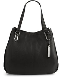 Vince Camuto - Textured Leather Tote - Lyst