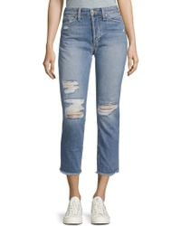 Joe's - The Smith High-rise Straight Ankle Jeans - Lyst