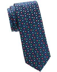Eton of Sweden - Polka Dot Silk Tie - Lyst
