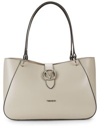 Valentino By Mario Valentino - Charlotte Leather Shoulder Bag - Lyst