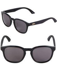 b2f73b6b31 Lyst - Puma Pu14701 Black   Blue Ombrã© Sport Wrap Sunglasses in ...