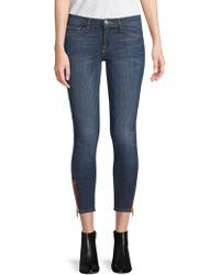 Etienne Marcel - Zip Ankle Skinny Jeans - Lyst