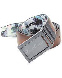 Robert Graham - Eclipse Reversible Faux Leather Belt - Lyst