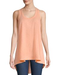 Wilt - Women's Hi-lo Tank Top - Robins Egg - Lyst