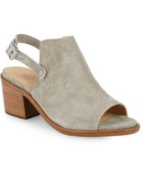 Rag & Bone - Wyatt Leather Slingback Sandals - Lyst