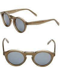 fcddaff8cb8b9 Céline Women s Geometric 61mm Sunglasses in Blue - Lyst