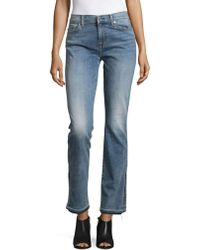 7 For All Mankind - Dylan Straight-leg Jeans - Lyst