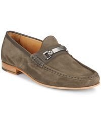 Vince Camuto - Miguel Suede Bit Loafers - Lyst
