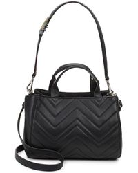 Sam Edelman - Gianna Leather Mini Tote - Lyst