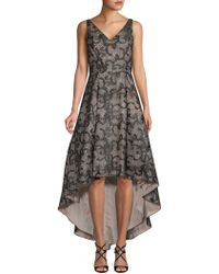 Calvin Klein - Paisley And Sequin-embellished Gown - Lyst