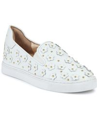 Isa Tapia - Taylor Floral-accented Trainers - Lyst