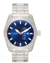 Android - Stainless Steel Tribeca Watch/blue - Lyst