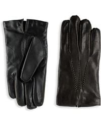 Saks Fifth Avenue - Nappa Leather Gloves - Lyst