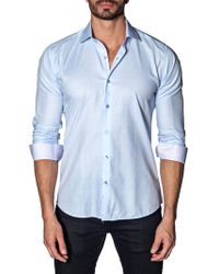 Jared Lang - Cotton Button-down Shirt - Lyst