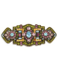 Heidi Daus - Crystal Multicolored Pin - Lyst