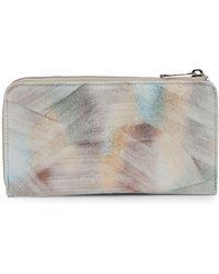 Aimee Kestenberg - Naples Zip Corner Leather Wallet - Lyst