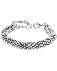 Saks Fifth Avenue | Faceted Crystal Rope Bracelet | Lyst