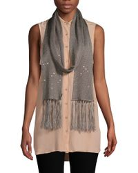 Valentino - Sequined Silk Scarf - Lyst