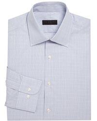 Ike By Ike Behar - Checkered Cotton Dress Shirt - Lyst