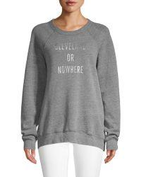 Knowlita - Cleveland Or Nowhere Sweatshirt - Lyst