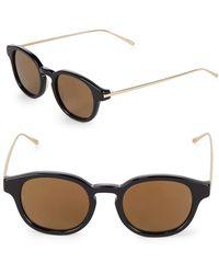 Sunday Somewhere - Spike 47mm Wayfarer Sunglasses - Lyst