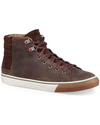 UGG - Casual Leather Trainers - Lyst