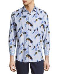 Robert Graham - Barrowcliffe Cotton Casual Button-down Shirt - Lyst