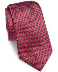 Ike Behar - Textured Silk Tie - Lyst