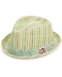Robert Graham - Woven Banded Fedora Hat - Lyst