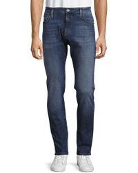 Mavi Jeans - Cool Tapered-leg Cotton-blend Jeans - Lyst