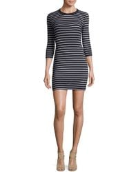 French Connection - Tim Knit Stripe Dress - Lyst