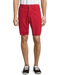 Original Paperbacks - St. Barts Cotton Twill Shorts - Lyst