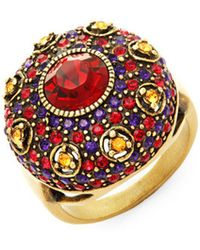 Heidi Daus - Infusion Of Colour Cocktail Ring - Lyst