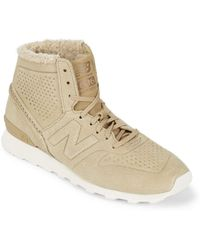 New Balance - Deconn Leather Boots - Lyst