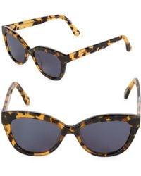 Sunday Somewhere - 54mm Cat Eye Sunglasses - Lyst