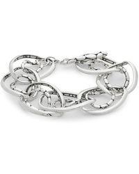 John Hardy - Sterling Silver Link Bracelet - Lyst
