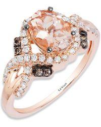 Le Vian - Chocolatier Peach Morganite Ring - Lyst