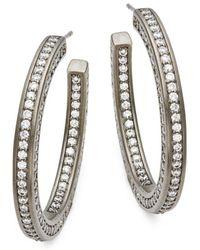 Freida Rothman - Radiance Hoop Earrings - Lyst