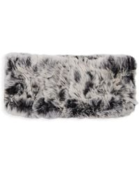 Belle Fare - Dyed Rex Rabbit Fur Headband - Lyst