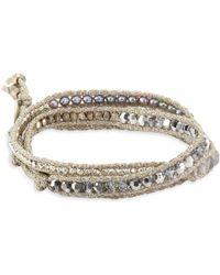 Chan Luu - Beaded Cord Bracelet - Lyst