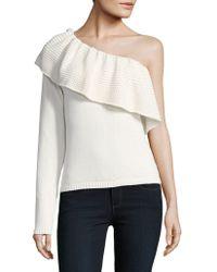 Ella Moss - One-shoulder Sweater - Lyst